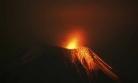 ''Ekvador'da yanardağ patladı''
