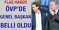 Flaş haber: ÖVP'de genel başkan belli oldu