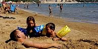 Gurbetçiler turizmciye çifte bayram yaşattı