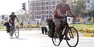 İki Türk itfaiyeci bisikletleriyle Almanya yolunda