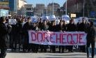 ''Kosova'daki öğrenci protestosu devam ediyor''