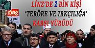 Linz'de Örnek Yürüyüş: Dini Cemaatlerin de bulunduğu 2 bin kişi 'Irkçılığa ve Teröre' karşı yürüdü