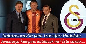 Lukas Podolski Avusturya kampına katılacak mı? İşte cevabı