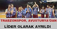 Trabzonspor, Avusturya'dan Lider Olarak Ayrıldı