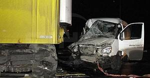 Türk sürücünün kullandığı TIR kaza yaptı: 2 ölü