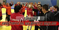 Türkiye, Avusturya'da Galibiyetle Başladı