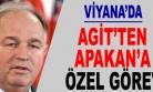 ''Viyana'da AGİT'ten Apakan'a Özel Görev''