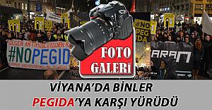 Viyana'da Binlerce Kişi PEGIDA'ya Karşı Yürüdü