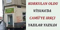 Viyana#39;da Camiye Irkçı Saldırı
