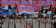 Viyana'da İsrail'e Tepkiler Dinmiyor