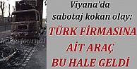 Viyanada sabotaj kokan eylem: Türk...