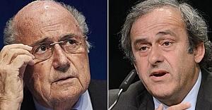 Blatter ve Platini'ye...