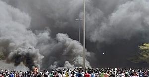 O ülkede bombalı saldırı:...