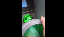 Viyana'da bankomat...