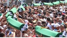 Bosna'da defnedilenler...