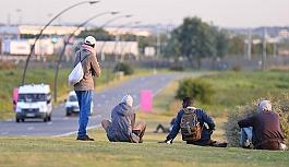 Avusturya'da mülteci...