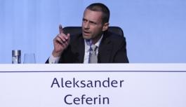 UEFA'nın yeni başkanından...