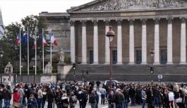 Fransa'da polisler...