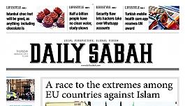 Daily Sabah gazetesinin AP'de dağıtımı...