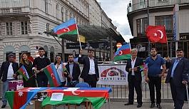 """Viyana'da """"Ermenistan"""" protesto..."""
