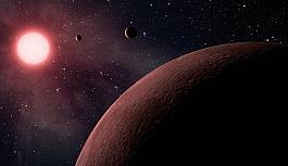 Dünya büyüklüğünde bir dış gezegen...