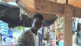Dakar'da pazarcılardan doğranmış...