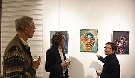 Viyana'da Makedon sanatçılardan resim...