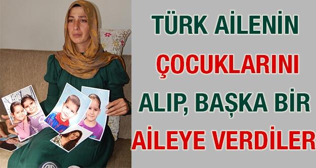 Türk Ailenin 5 Çocuğunu Alıp, Başka...