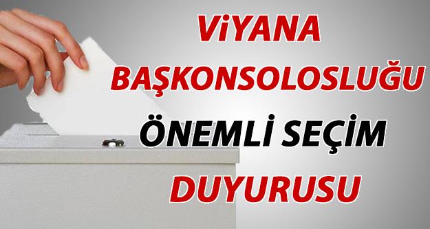 Türkiyedeki Genel Seçimler: Avusturyada Oy Kullanabilmek İçin Yapmanız Gerekenler