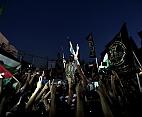Gazze'de 'direnişin zaferi' kutlanılıyor