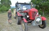 Avusturya'dan Kastamonu'ya traktörle gitti