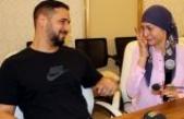 Kelimeişehadet getirirken döktüğü gözyaşlarıyla Müslüman oldu
