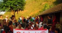 Rahma Austria'dan Nepal'e Yardım
