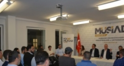 MÜSİAD Avusturya'da Bayramlaşma Programı Düzenlendi