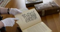 Türk edebiyatının ilk ve nadide kitapları, o ülkenin kütüphanesinde