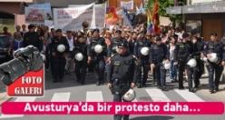 Avusturya'da Bir Protesto Daha...