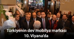 Türkiye'nin dev mobilya markası artık 10. Viyana'da