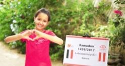 Rahma Austria Ramazan yardımlarını 9 ülkeye ulaştırdı