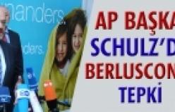 ''Präsident des Europäischen Parlaments Martin Schulz verärgert über Aussagen von Berlusconi'