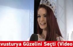 Muhasebeci Genç Kız Avusturya'nın En Güzel Kızı Seçildi (Video)