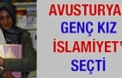 'Avusturyalı genç kız İslamiyet'i seçti'