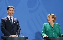 Merkel ve Kurz, AB'nin dış sınırlarını korumayı istiyor
