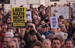 Avusturya'da hükümet karşıtı gösteri