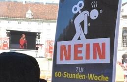 Avusturya'da her üç kişiden ikisi günlük 12 saat çalışmayı reddediyor