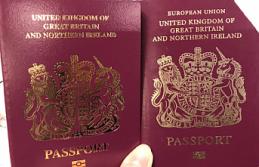 İngiltere, pasaportlarından 'Avrupa Birliği' ifadesi kaldırıldı