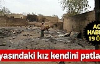 10 yaşındaki çocuk canlı bomba yapıldı: 19 Ölü