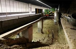 Brüksel'de fareler tünel planlarını yedi
