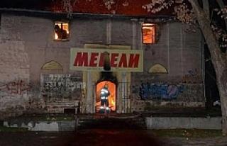Bulgaristan'daki öksüz tarihi camiii kül oldu