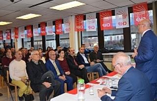 CHP İstanbul Milletvekili Tanal, Viyana'da konuştu