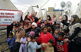 Rahma Austria'dan savaş mağdurlarına kış yardımı